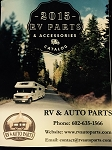 FREE RV & Auto Parts Catalog - 2015 - orders over 249.99