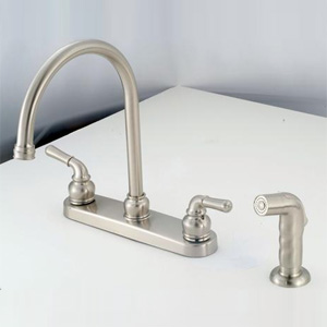 Empire Brass NN801GSN Brushed Nickel 8 Dual Lever Hi Arc