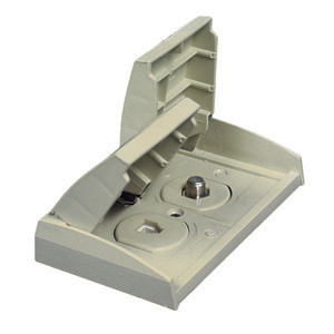 Prime products 08 6306 outdoor phone tv outlet colonial white for Outlet colonial