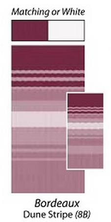 carefree 80188b00 vinyl awning fabric bordeaux dune stripe 18 39. Black Bedroom Furniture Sets. Home Design Ideas