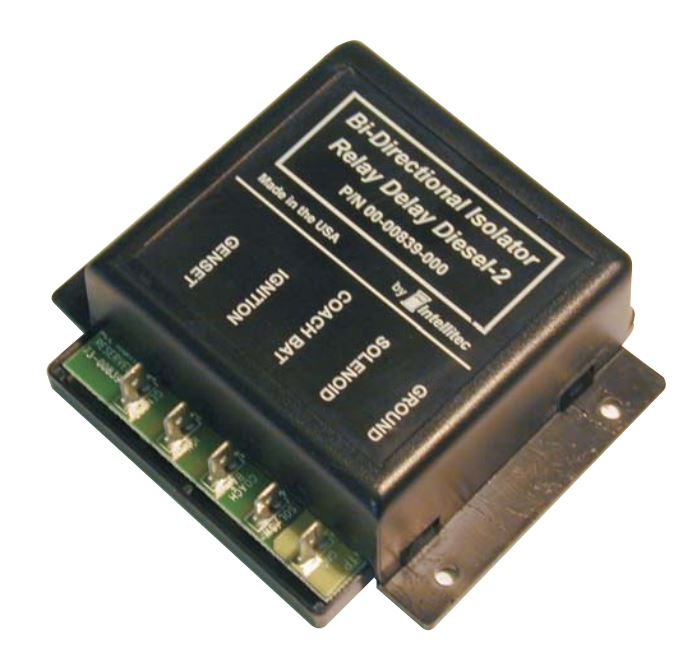 00-00839-000 Intellitec Battery Isolator Relay Delay Delays The