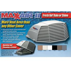 00-933075 MaxxAir Ventilation Solutions Roof Vent Cover Exterior Mount