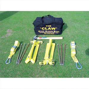 Hunting Sol. The Claw Awning Tie-Down Kit C-200