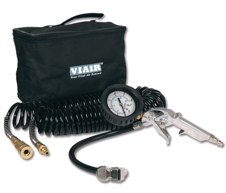 00043 Viair Air Compressor Tire Inflation Tool Kit With 2.5 Inch