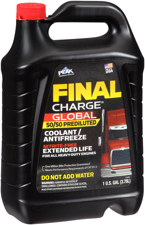 FXAB53 Peak/ Herculiner Engine Coolant 50/50 Pre-Diluted