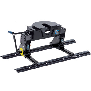 Pro Series 5th Wheel Hitch w/ Slider Square Tube 4 Bolt 30076