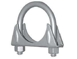 00034 Nickson Exhaust Clamp 1 3/4 Inch Diameter