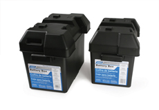 Camco Battery Box Large Black 55372