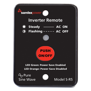 Samlex S-R5 Remote For Sa-1500 Inverters S-R5