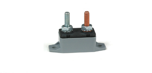 31121 Circuit Breaker In-Line 12V 10 amp Straight Mount 65218
