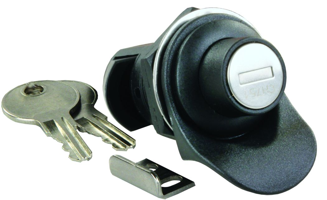 00255 JR Products Lock Cylinder Key Lock