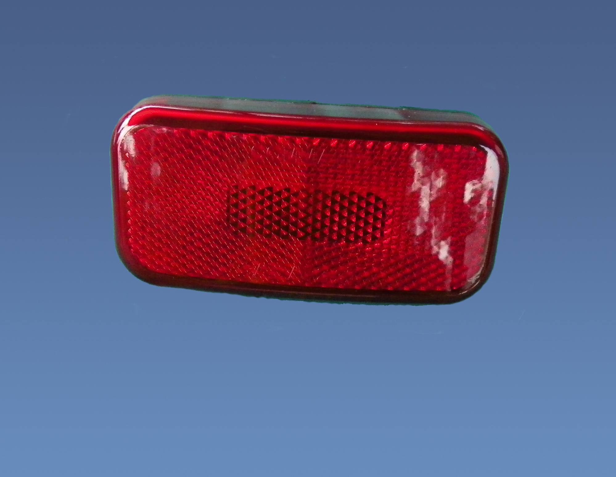 003-58B Fasteners Unlimited Tail Light Assembly Red Lens