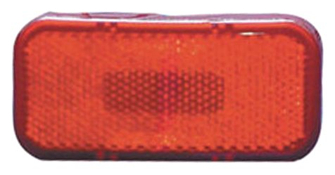 003-59L Fasteners Unlimited Tail Light Assembly- LED Red Lens