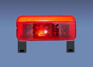 003-81LBM1 Fasteners Unlimited Tail Light Assembly- LED Surface Mount