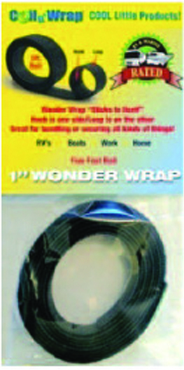 006-73 AP Products Hook And Loop Tape 5 Foot Length x 1 Inch Width