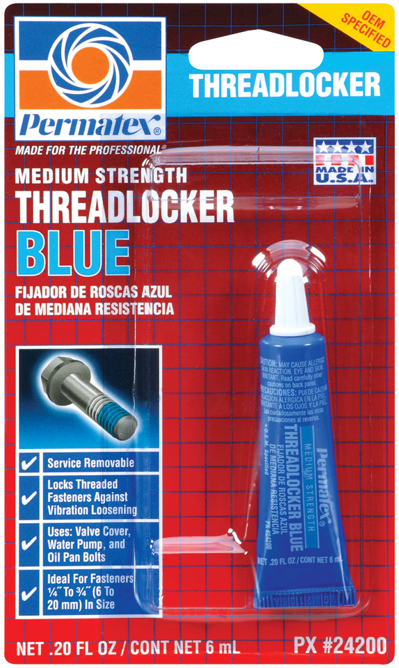 24200 Permatex Thread Sealant Use With Valve Cover Bolts/ Water Pump