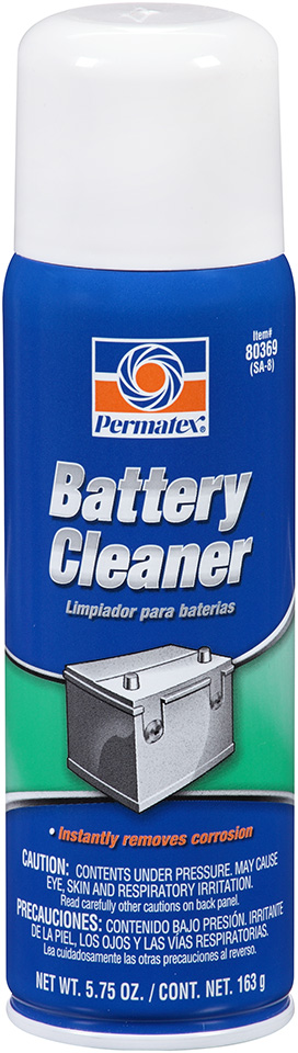 80369 Permatex Battery Cleaner Penetrates And Removes Corrosion, Dirt