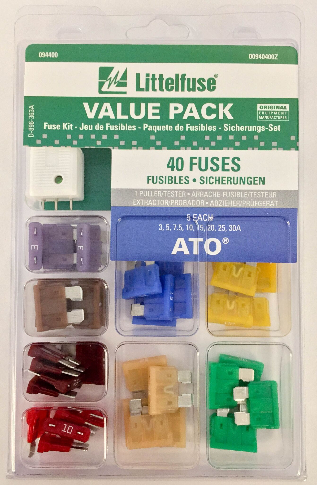 00940400z Littelfuse Inc Fuse Assortment Ato Fuses Types Of Quick View