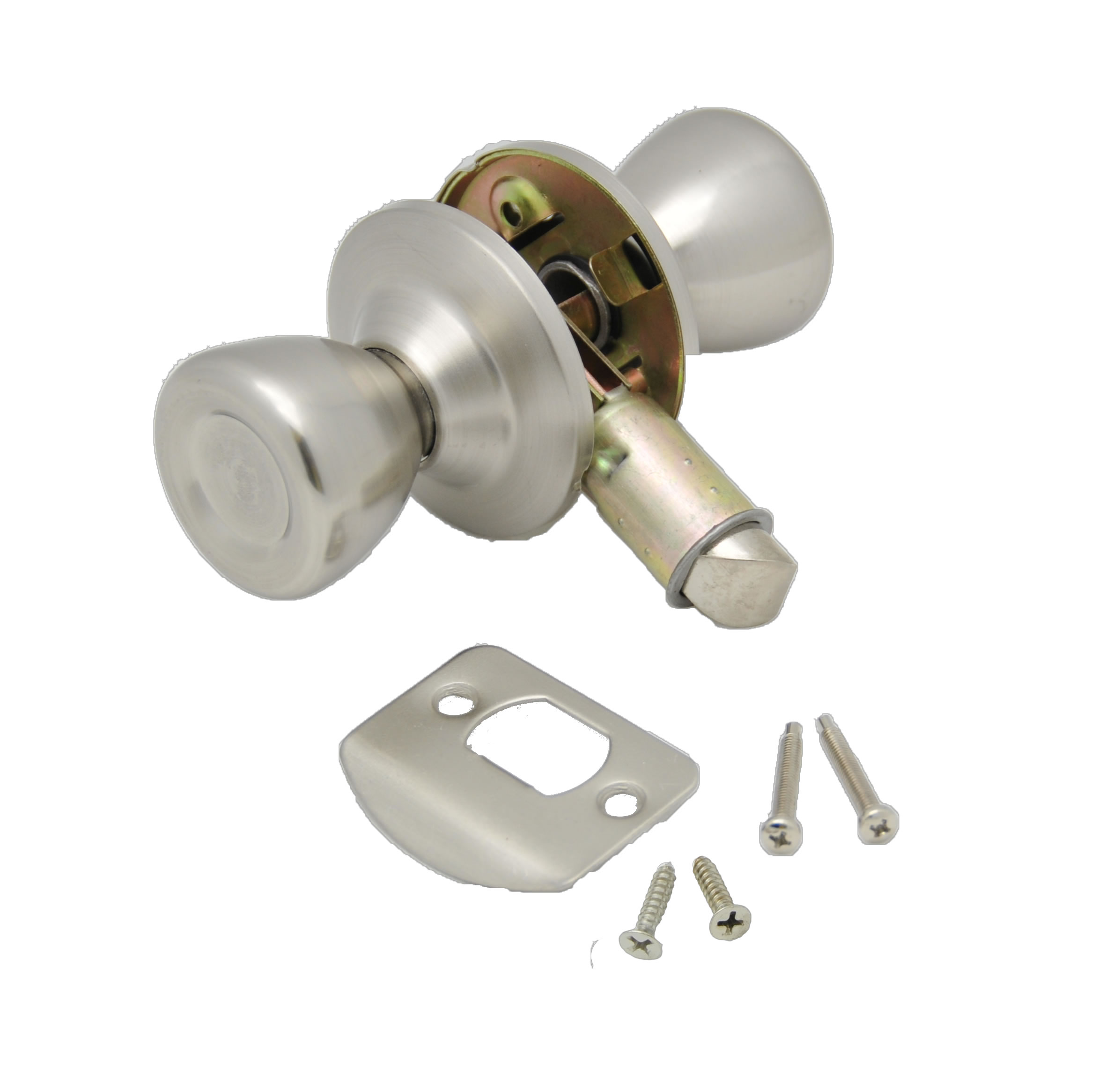 013-203-SS AP Products Entry Door Lock Knob Type