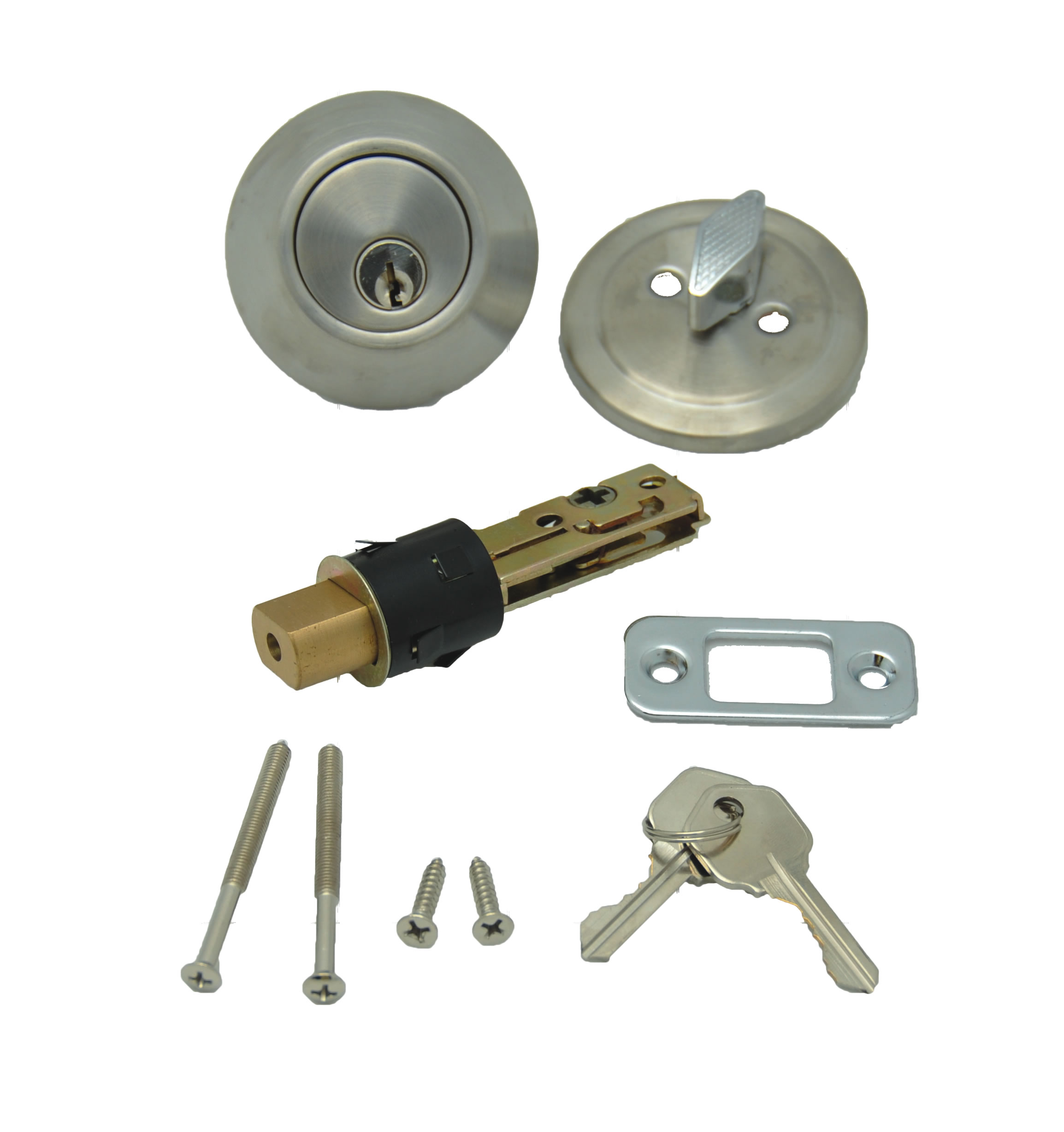 013 222 Ss Ap Products Entry Door Lock Single Deadbolt