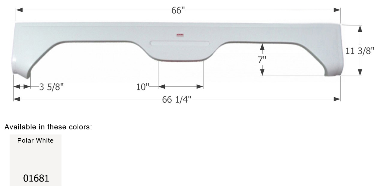 01681 Icon Fender Skirt Fits Various Gulfstream Brands Including Gulf Stream Wiring Diagram Quick View