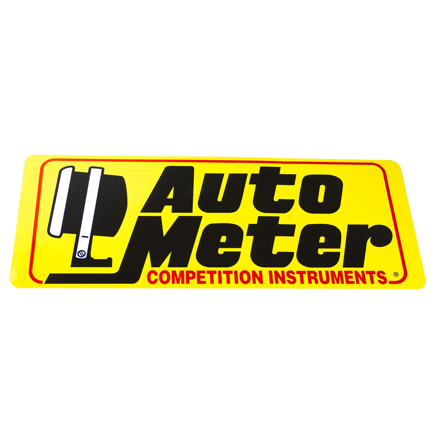 0209 Auto Meter Products Decal Competition Instruments