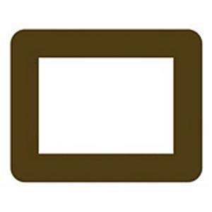 Rv-57-01-Brown Reel Life Interior Accessories Rv 5X7 Adhesive Pic Frame Br