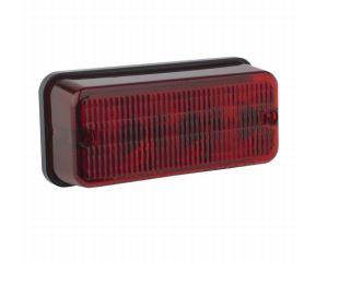 0341361 J.W. Speaker Tail Light Assembly- LED Red Lens