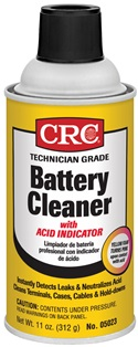 05023 CRC Industries Battery Cleaner Penetrates And Removes Corrosion