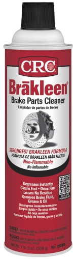 05089F CRC Industries Brake Cleaner 19 Ounce Aerosol Can