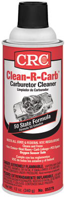 05379 CRC Industries Carburetor Cleaner Use To Clean Automatic