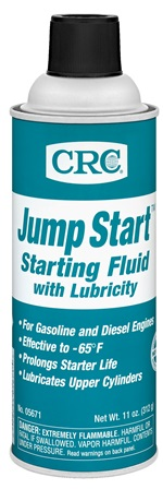 05671 CRC Industries Starting Fluid Use To Start Gasoline/ Diesel