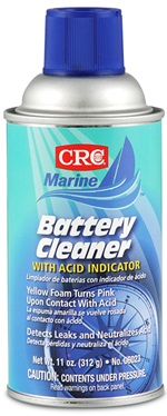 06023 CRC Industries Battery Cleaner Use To Remove Corrosion On