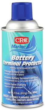 06046 CRC Industries Battery Terminal Cleaner Use To Remove Corrosion