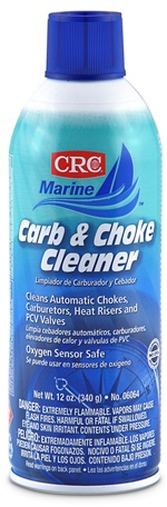 06064 CRC Industries Carburetor Cleaner Use To Clean Automatic
