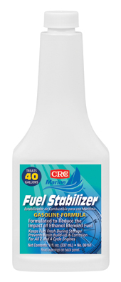 06161 CRC Industries Fuel Stabilizer Use To Keep Fuel Fresh During