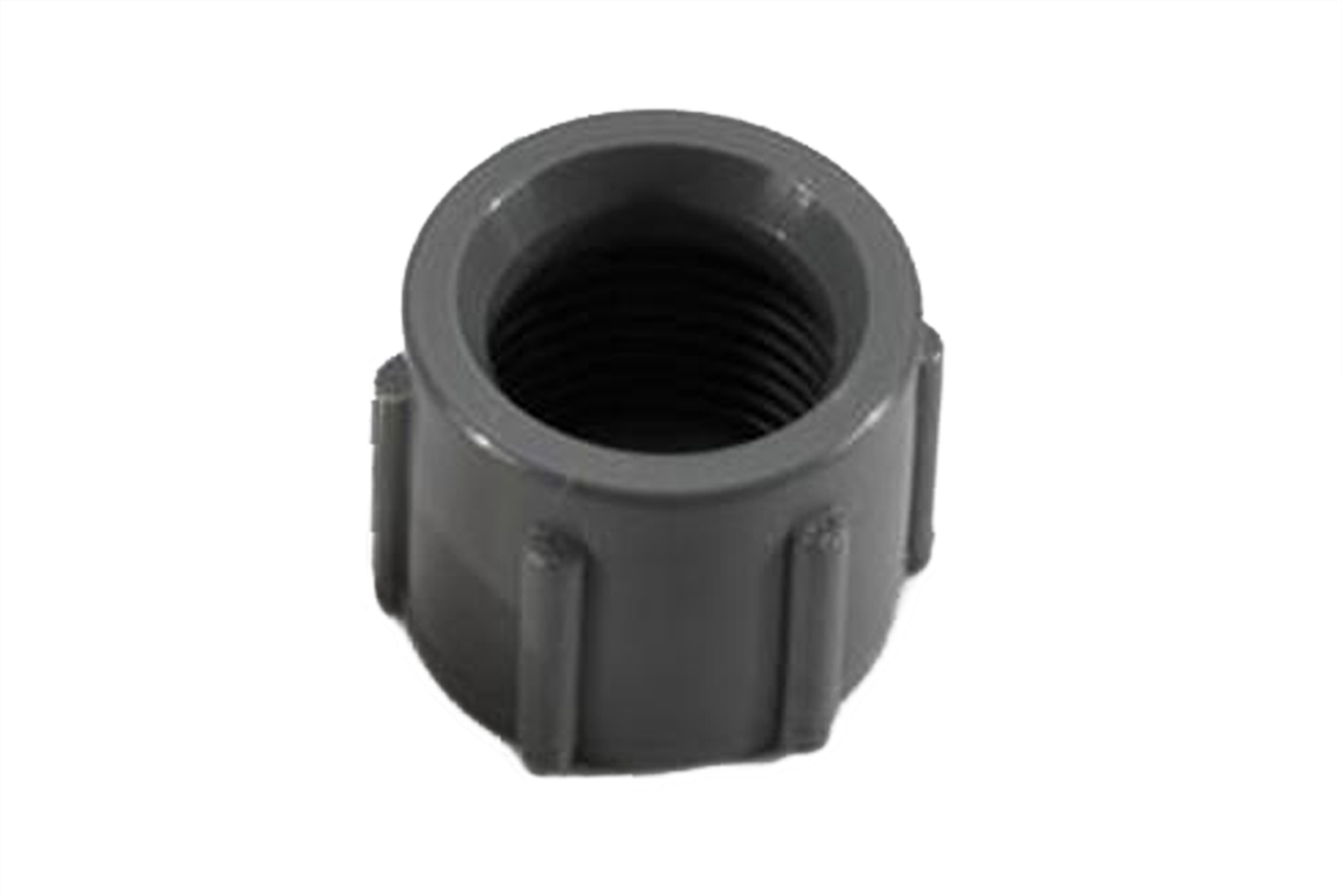 06314 Elkhart Supply Tube End Fitting Nut 1/2 Inch