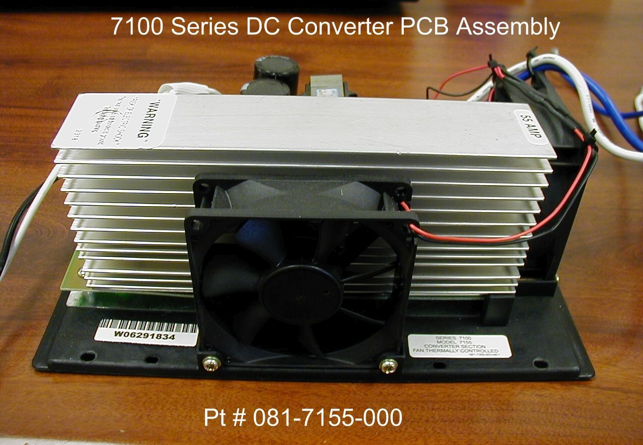 081-7155-000 Parallax Power Supply Power Converter Converts 130-150