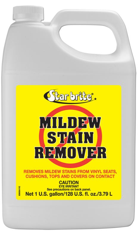 085600n star brite mildew stain remover used to remove mildew stains from vinyl covers. Black Bedroom Furniture Sets. Home Design Ideas
