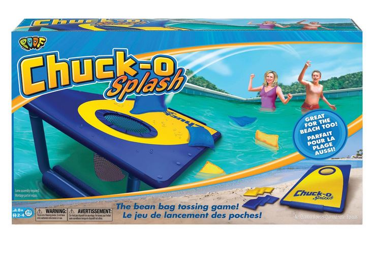 0X0873BL Poof Slinky Water Game Chuck O Splash Game