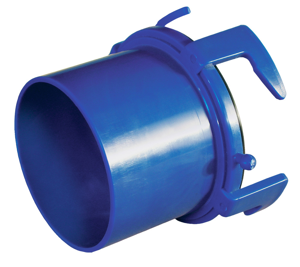 1-0004 Prestofit Sewer Hose Connector For Connecting Sewer Hose To