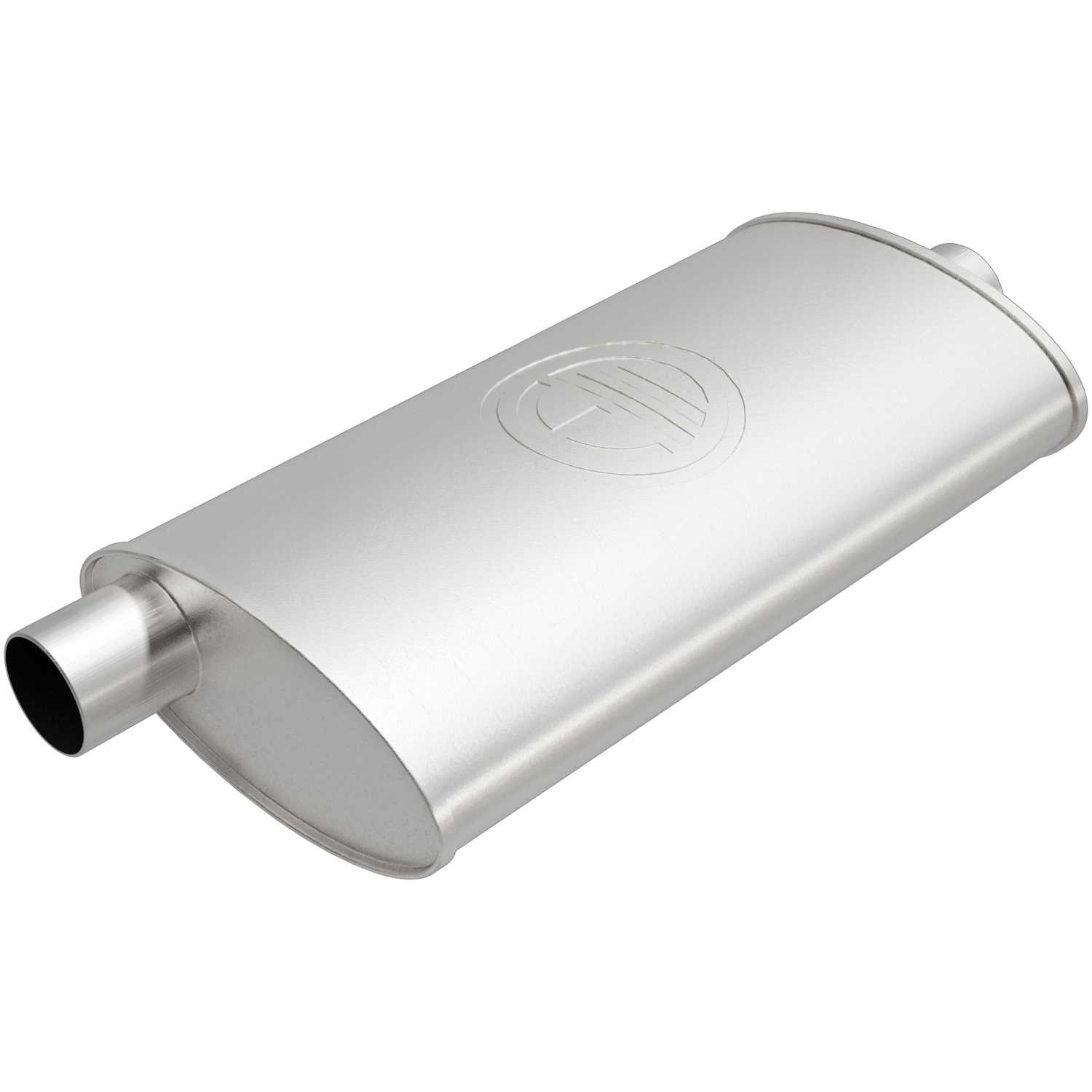 100-1756 Bosal USA Exhaust Muffler Aluminized Steel Case
