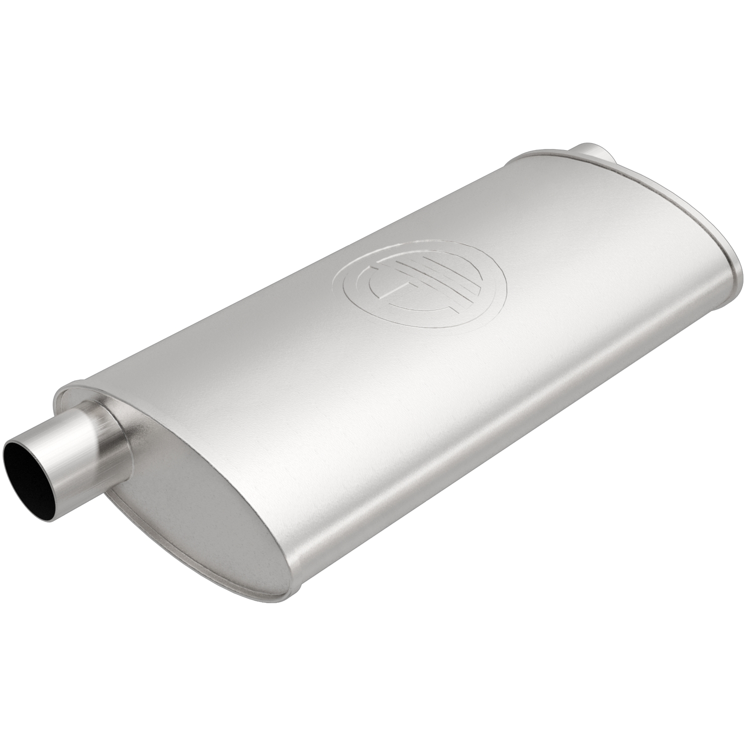 100-1757 Bosal USA Exhaust Muffler Aluminized Steel Case