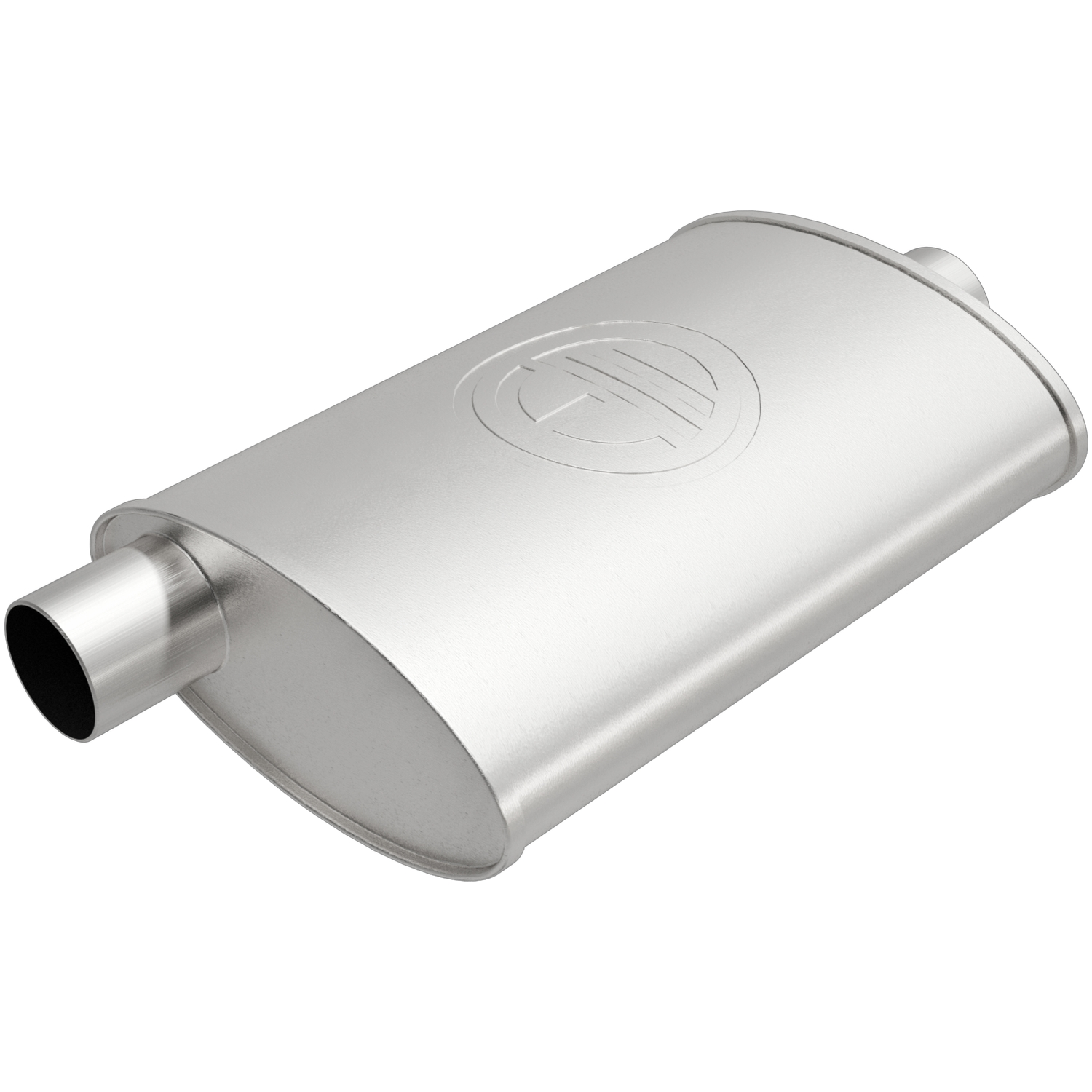 100-1779 Bosal USA Exhaust Muffler Aluminized Steel Case
