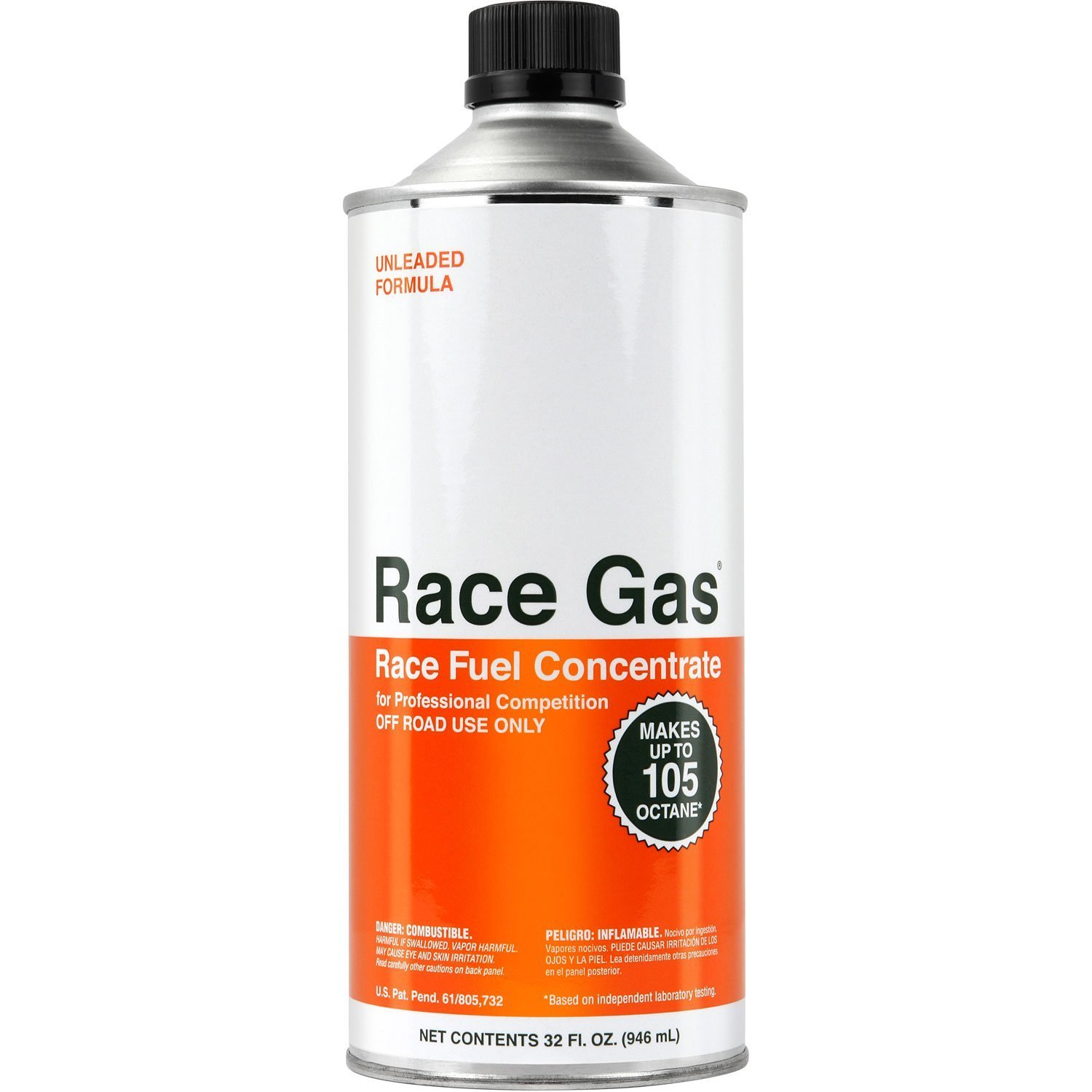 100032 Race Gas Fuel Additive For 87-93 Octane Gas