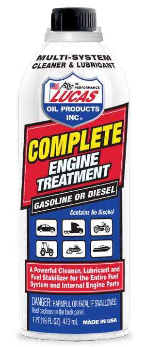 10016 Lucas Oil Fuel System Cleaner Use To Clean/ Lubricates And Fuel  Stabilizer For Entire Fuel System And Integral Engine Parts