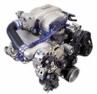 1001853SL-P Vortech Superchargers Supercharger Kit For Use With Ford