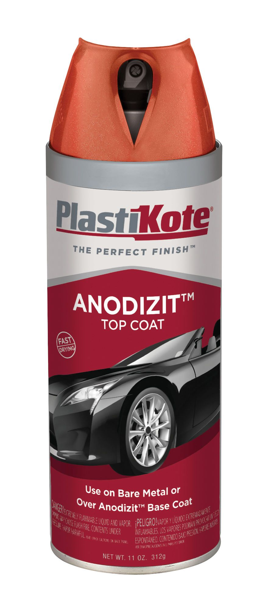 101 PlastiKote Paint For Untarnished Metal