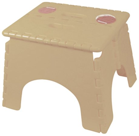 101-6BG B&R Plastics Step Stool Single Step With Skid Resistant