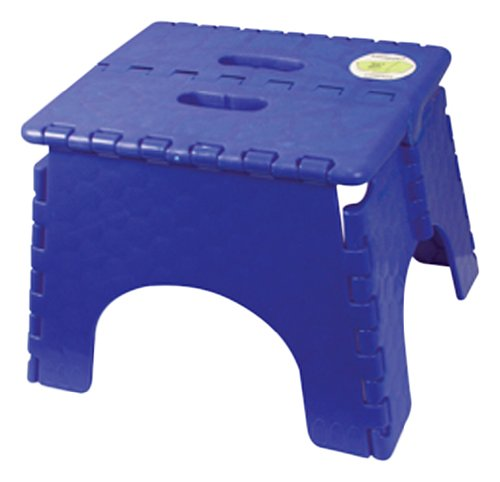 101-6SB B&R Plastics Step Stool Single Step With Skid Resistant